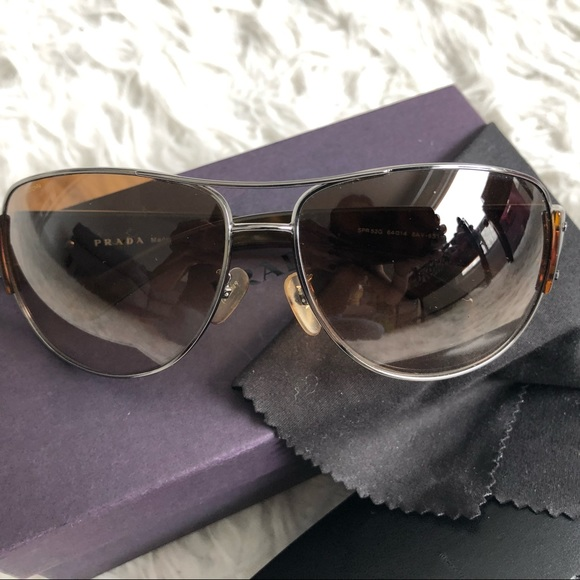 Prada Aviator Pilot Sunglasses